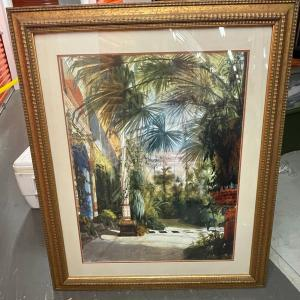 Photo of Large framed art