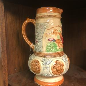 Photo of Vintage Japan  Beer Pitcher and Six Mugs