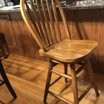 Counter swivel stools