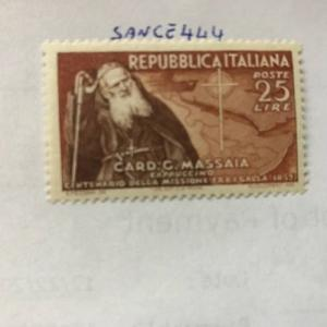 Photo of Italy Ethiopia mission mnh 1952 stamps