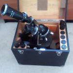 Carl Zeiss Laboratory Microscope - Model KF124-202