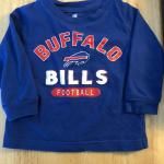 Toddler Buffalo Bills long sleeve shirt