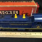 Lot 74: Chesapeake and Ohio Locomotive and More