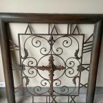 metal clock wall decor