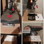 Craftsman Bench Sander, Drill, Scroll Saw with Stands