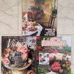Lot 282 s Vintage 1995 issues of Country Living and Victoria magazines Old Salem