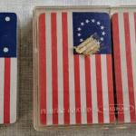 Lot 284 s Vintage 1970's Flag Playing cards Bennington, First National, Grand Un