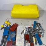 Lot# 288 s Vintage Gabriel Erector Set Case Parts Instructions