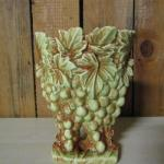"Vintage McCoy Pottery Grapes and Leaves Vase 9"" Choice Two"