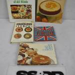 5 Vintage Cookbooks: British Grub -to- Salads of All Kinds