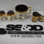 Cincinnati Souvenirs, Mug with Matching S&P, Zoo S&P Shakers