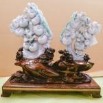 Hand Carved Lavender Jade