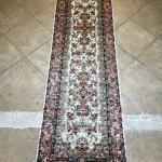 Hand Knotted Asian Rug Runner