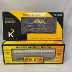 Lot 165: Rail King Accessories and Kline Freight Car