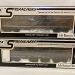 Lot 169: K-Line Streamliners Passenger Cars