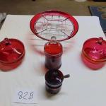 84B  Cranberry items
