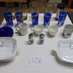 Box 126 Corningware, glassware, more
