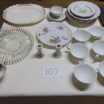 Box 107  Royal Heidelburg china, other dishes