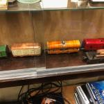Hafner Antique Clockwork Windup Tin Litho Train Set