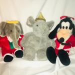 (13) Stuffed Animals - Christmas Theme
