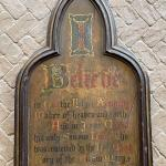 French Gothic Revival Religious Wall Plaque Apostles Creed