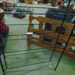 Item 124  Wire shelf