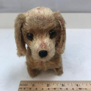 Photo of Vintage Battery Operated Mechanical Dachshund Weiner Dog