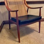 Pair Danish MCM Peter Hvldt France & Daverkosen Chairs