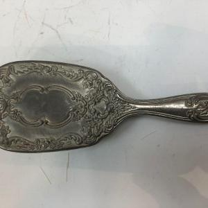 Photo of Vintage Silver Plate Hair Brush