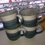 4 Stoneware Mugs