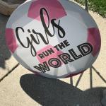 Girls run the world canvas