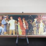 Framed Vintage Coca Cola puzzle Framed