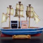 Vintage Ghiradelli Model Ship