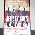 Broadway Show Jersey Boys Autographed Poster