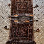 Hand Crafted Double Persian Saddle Salt  Bag