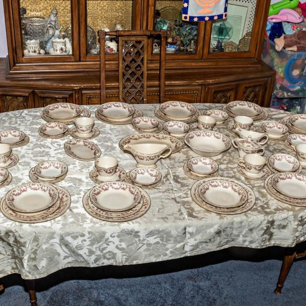 Photo of Edwin M. Knowles Vintage Dinnerware
