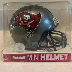 Photo of Signed Tampa bay buccaneers mini helmet