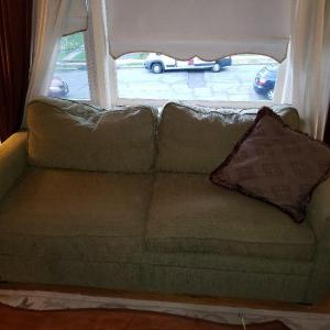 Photo of Sofa with storage, good condition!