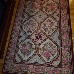 Photo of Hooked rug