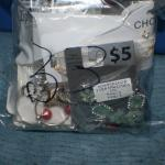 Quart Size Ziplock Bag of Jewelry -33
