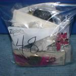 Quart Size Ziplock Bag of Jewelry -48