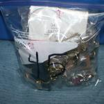 Quart Size Ziplock Bag of Jewelry -45