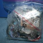 Quart Size Ziplock Bag of Jewelry -41