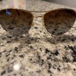 Versace tortoise shell frame polorized sunglasses