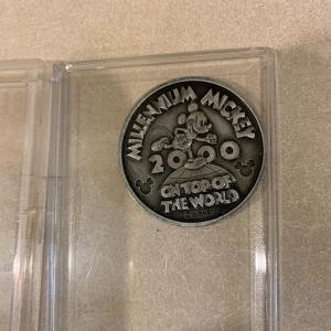Photo of Turn of the century coin Mickey Mouse Disney