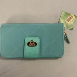 Photo of Vera Bradley preppy mint wallet brand brand new with tags