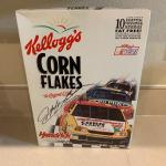 Jeff Gordon Signed cereal