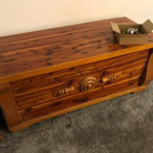 Photo of Beautiful Antique cedar chest Gilley's antique Mall 119.00