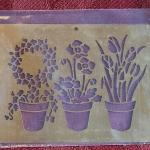 Lot 374: Vintage Metal Embossing Stencils