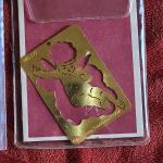 Lot 371: (4) Metal Holiday Embossing Stencils